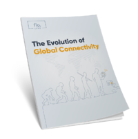 The evolution of global connectivity